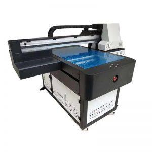 A1 Ուլտրամանուշակագույն Flatbed թվային տպիչ ECO վճարունակ թանաքով WER-ED6090UV