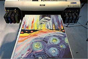 Canvas նմուշ A2 Ուլտրամանուշակագույն տպիչի WER-EH4880UV