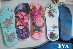 EVA-Slipper-Printing-sample- ից-WER-EP6090UV