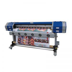 EW160 / EW160I խոշոր ֆորմատի երկու DX7 ղեկավար մեքենայի փաթաթում sublimation թղթի տպիչ