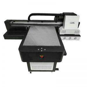 WER-ED6090T չափը A1 T-shirt flatbed printer
